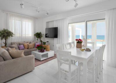 Rhodes Holidays Nada Beach Front Villa Rhodes 4
