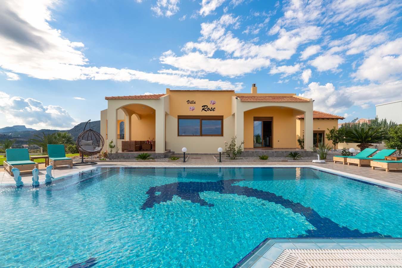 Rhodes Holidays Rose Villa House Rhodes 1