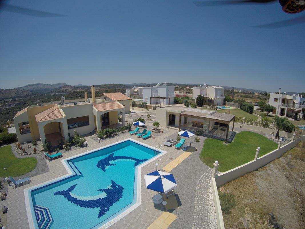 Rhodes Holidays Villa Rose Pool