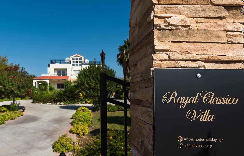 Rhodes Holidays Royal Classico Villa Rhodes (38)