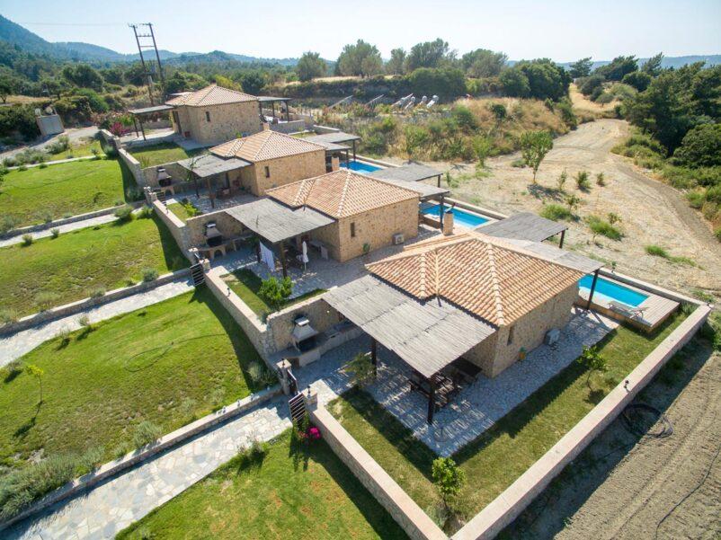 Rhodes Holidays Salakos Villas both 28azx