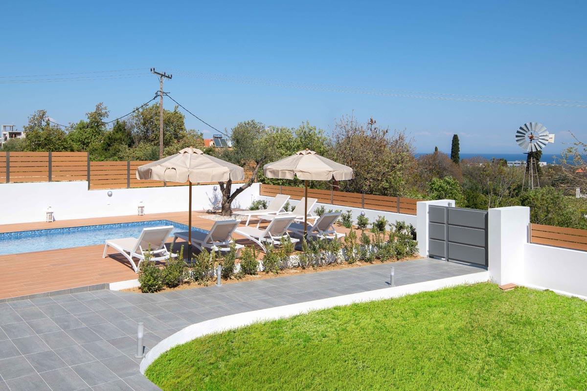 Rhodes Holidays Terpsis Pool Villa Rhodes 16