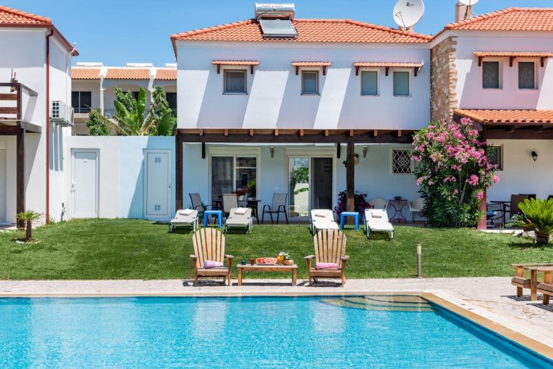 Rhodes Holidays The Blue House in Kolympia Rhodes 1