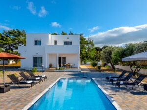 Rhodes Holidays Vasilis Pool Villa Rhodes 1