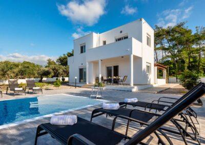 Rhodes Holidays Vasilis Pool Villa Rhodes 2