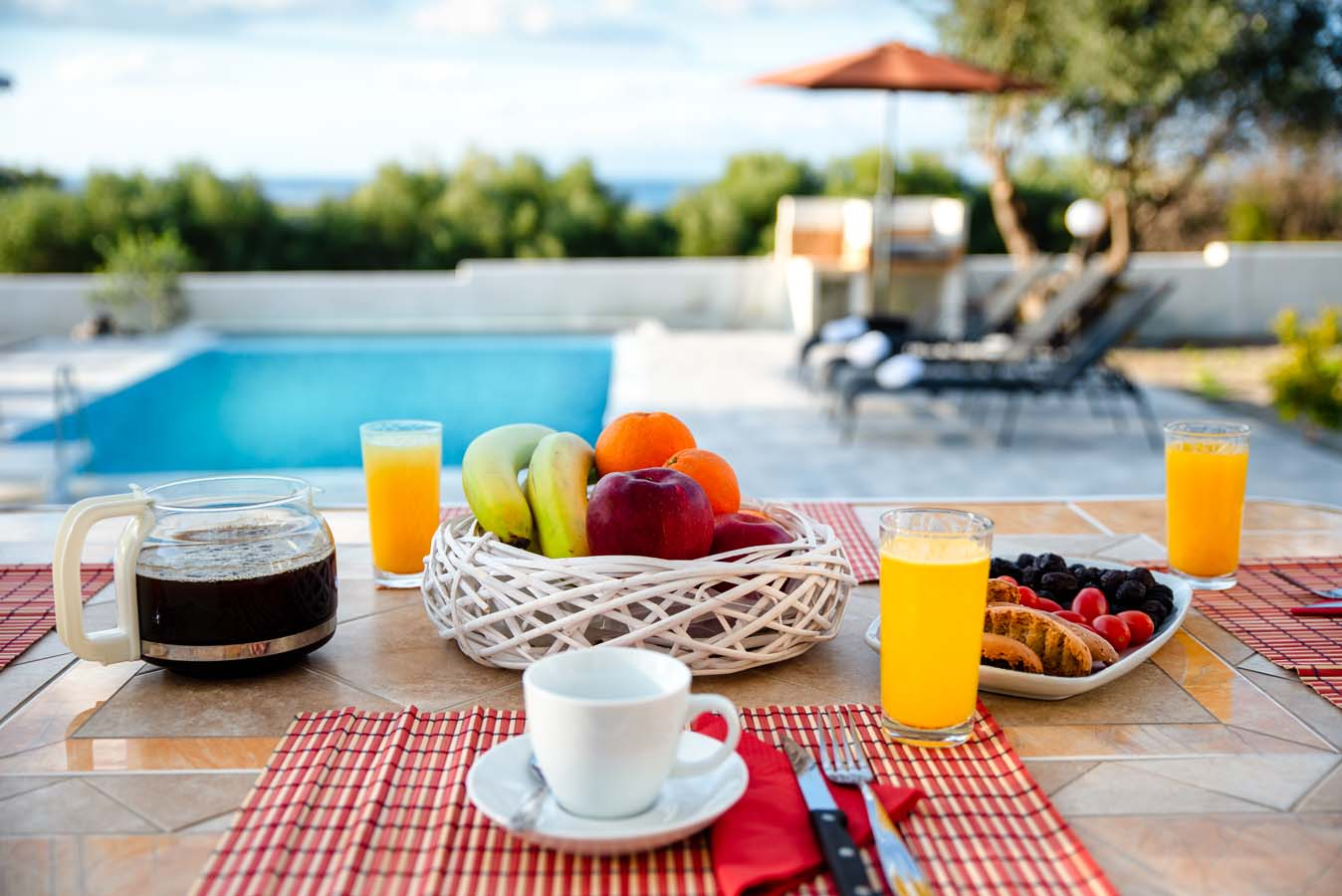 Rhodes Holidays Vasilis Pool Villa Rhodes 4