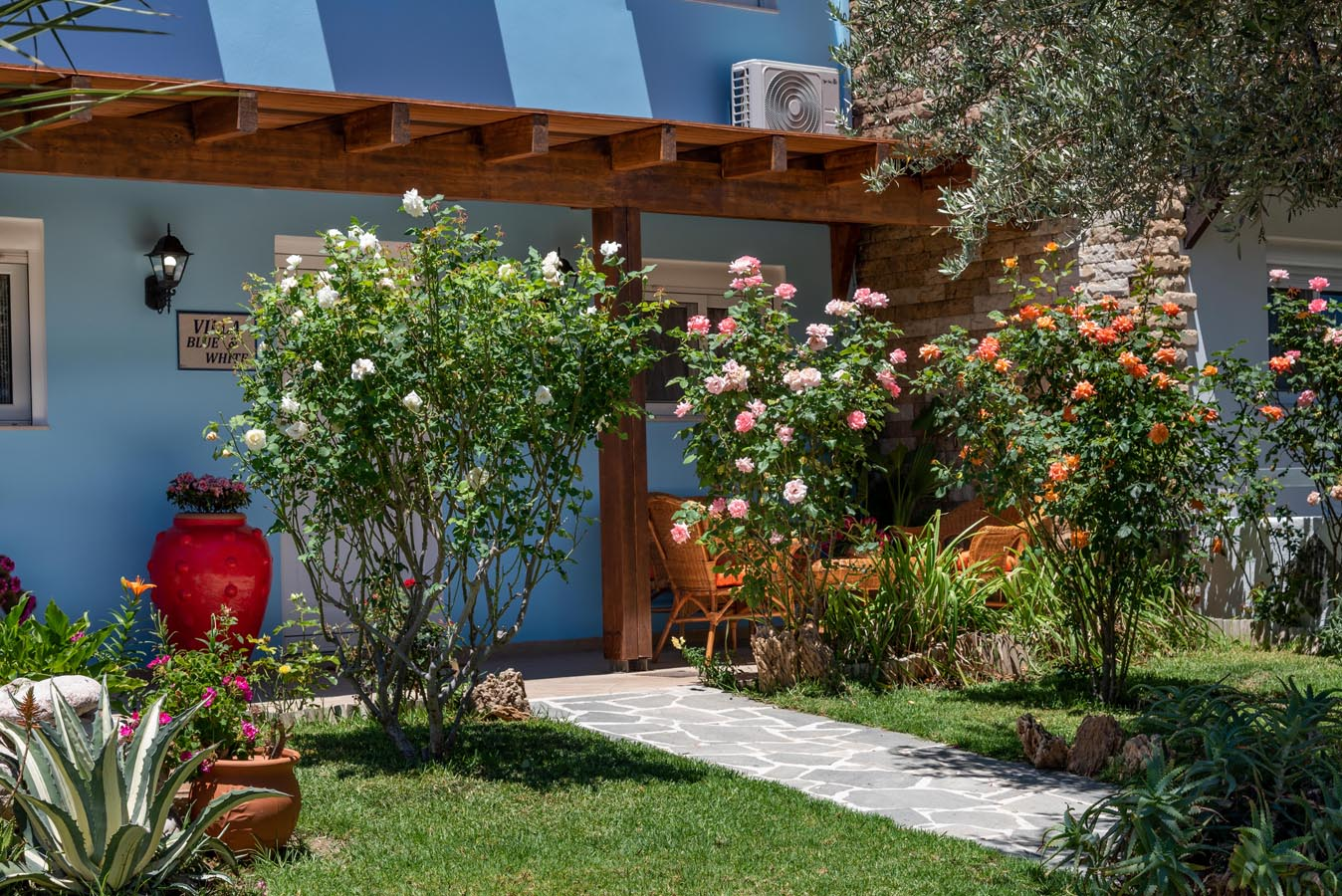 Rhodes Holidays Posidonias Villas White 14