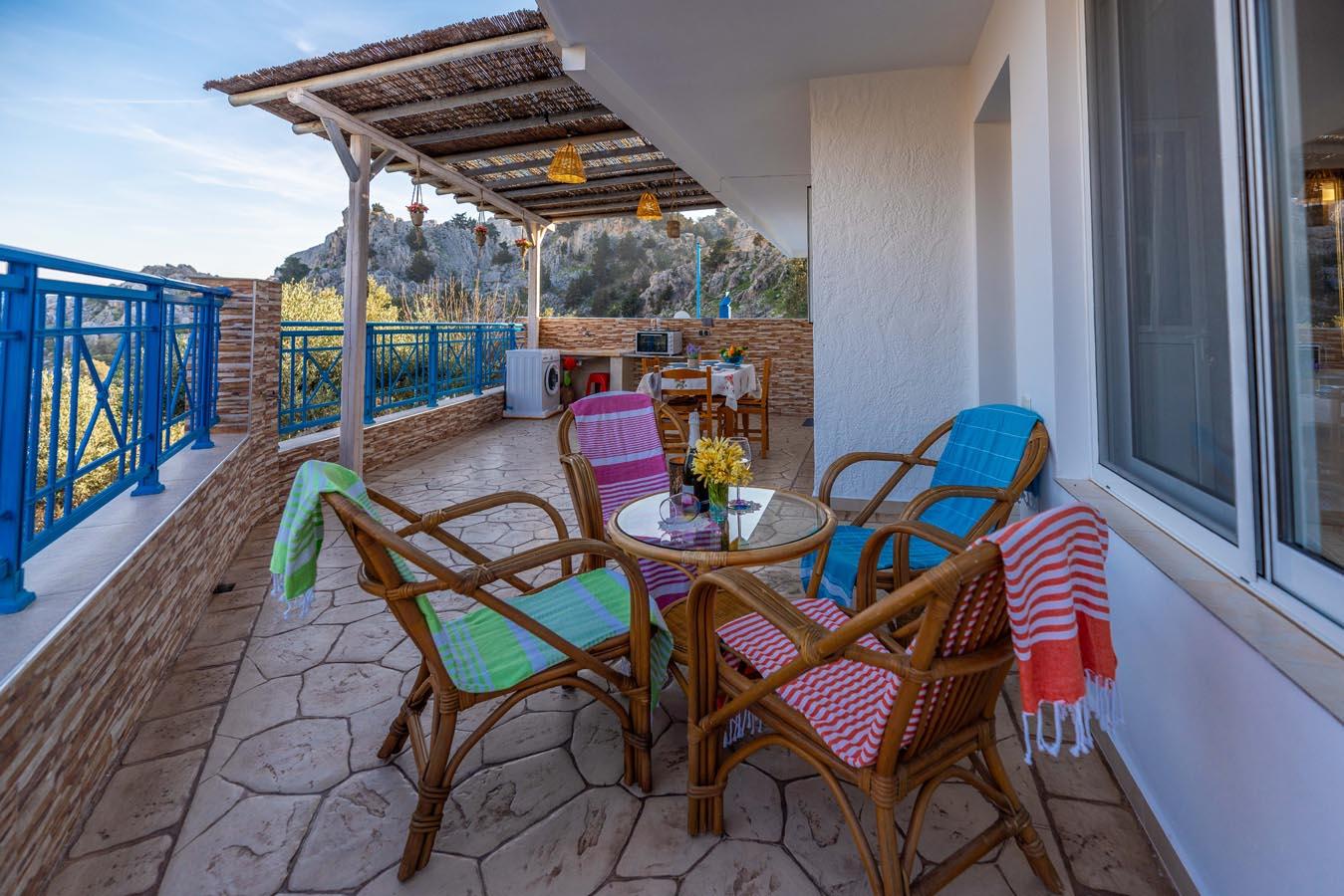 Rhodes Holidays Villas Aperanto Galazio 2