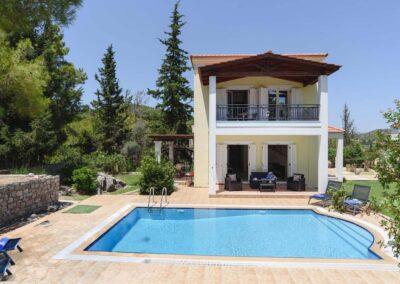 Rhodes Holidays 7 springs Villas Olympios